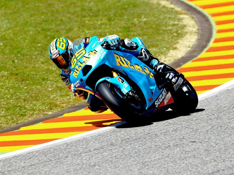 Loris Capirossi in action in Mugello