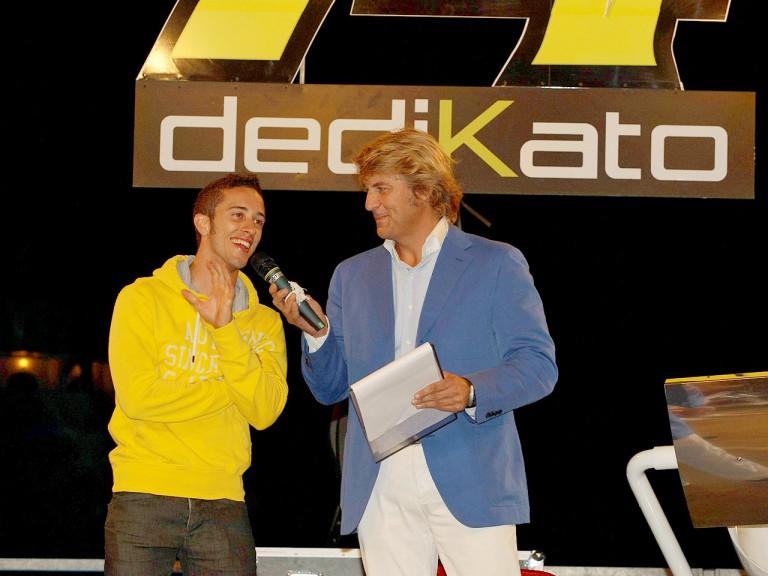 Andrea Dovizioso at Dedikato