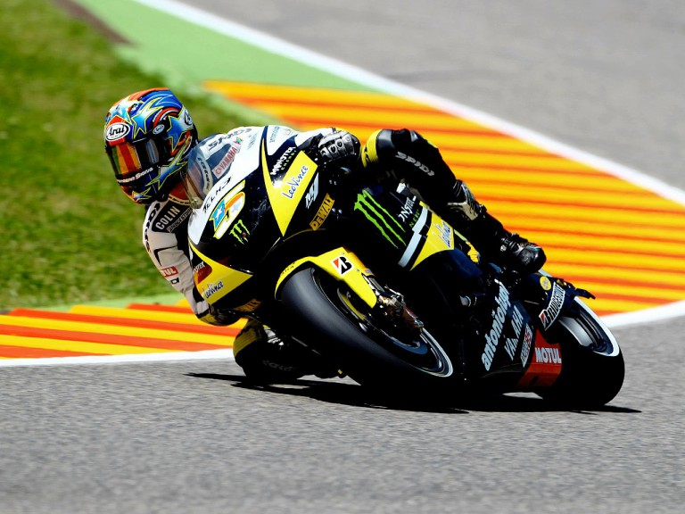 Colin Edwards on track in Mugello