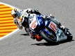 Lorenzo and De Puniet in action in Mugello