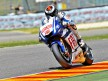 Jorge Lorenzo in action during the QP in Mugello
