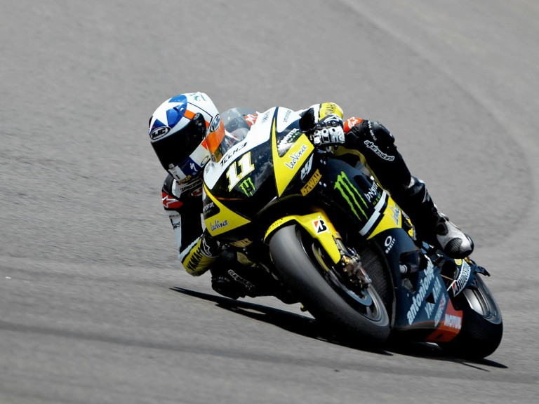 Ben Spies in action in Mugello