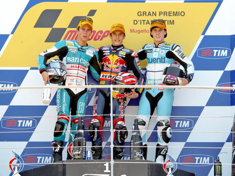 Terol, Marquez and Espargaró on the podium in Mugello