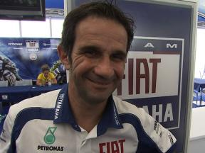 Davide Brivio on Valentino Rossi's condition