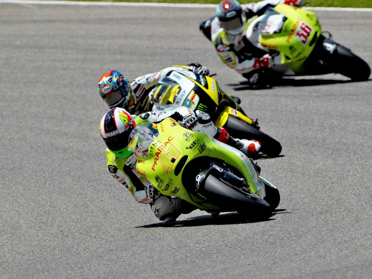 Aleix Espargaró in action in Mugello