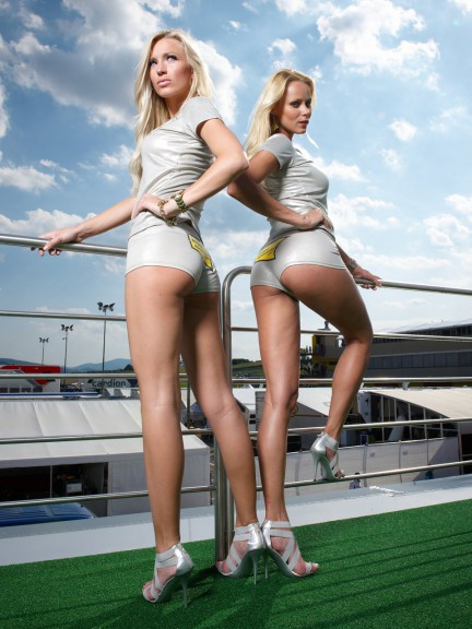 Paddock girl at the Gran Premio D´Italia Tim