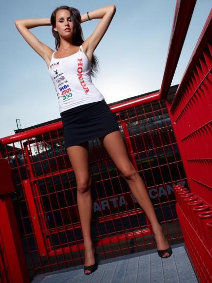 Paddock girl at the Gran Premio D´Italia Tim