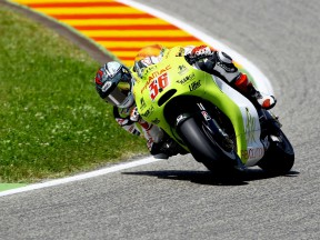 Mika Kallio in action in Mugello