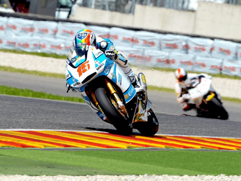 Alex de Angelin in action in Mugello