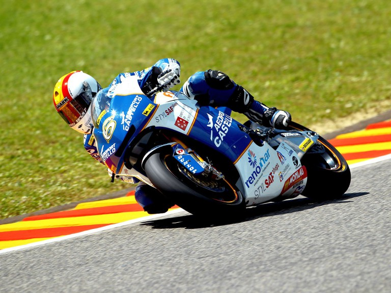 Alex Debon in action in Mugello