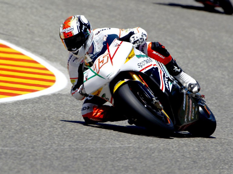 Mattia Pasini in action in Mugello