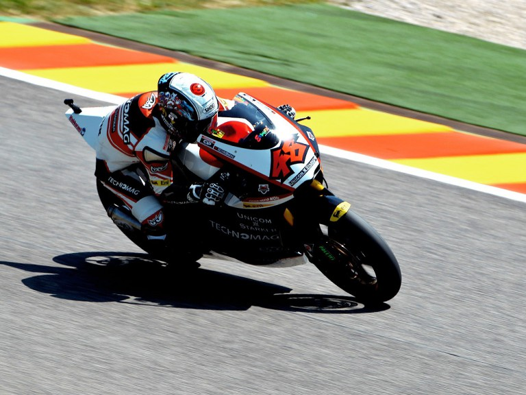Shoya Tomizawa on track in Mugello