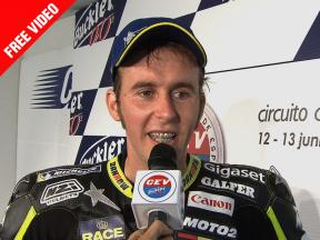 2010 - CEV Buckler - Jerez - Moto2 - interview - Morales