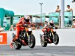 Ducati factory riders at World Ducati Week