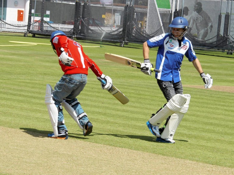 Hayden and Lorenzo at Lord´s Cricket Ground