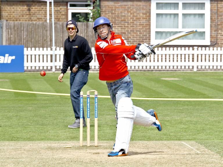 Nicky Hayden at Lord´s Cricket Ground