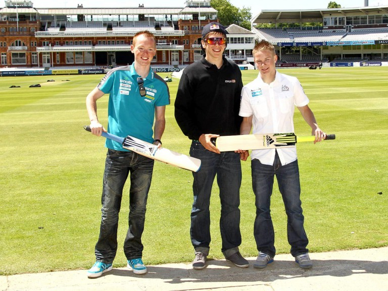 Smith, Redding and Webb at Lord´s Cricket Ground