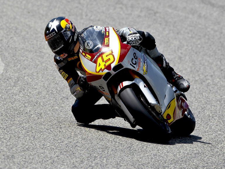Scott Redding on track