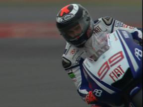 Silverstone - 2010 - MotoGP - FP1 - highlights