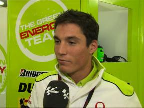 Aleix Espargaró gives Silverstone feedback