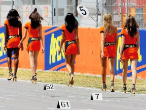 Paddock Girls at the Gran Premi Aperol de Catalunya