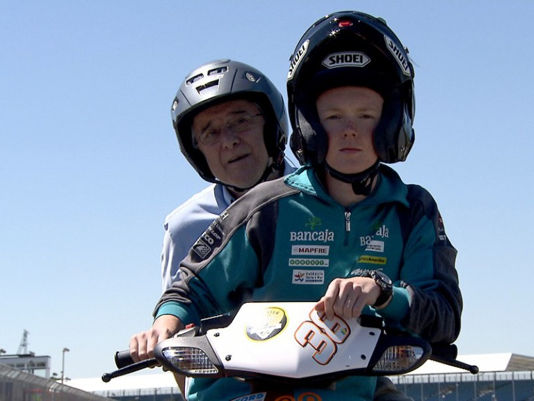 A lap track of Silverstone with Nick Harris and Bradley Smith