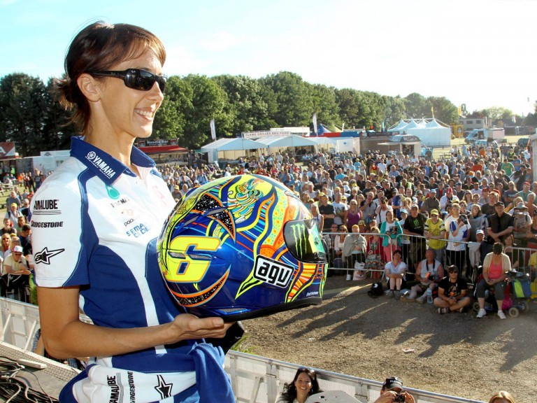 Rossi´s helmet auctioned at Day of Champions at Silverstone