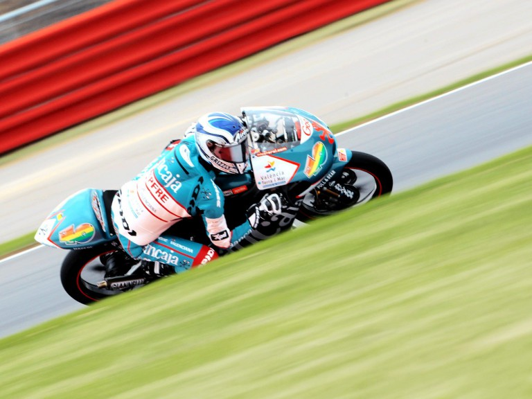 Nico Terol in action in Silverstone