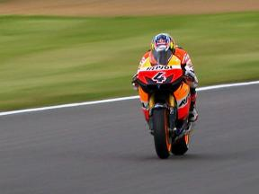 Dovizioso to mount challenge from second row