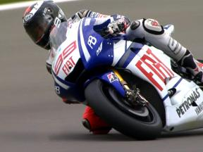 Lorenzo delighted with first pole of 2010
