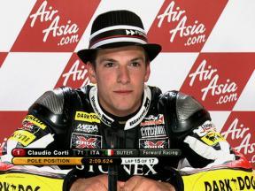Silverstone 2010 - Moto2 - QP - Interview - Claudio Corti