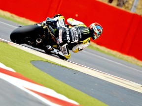 Colin Edwards on track at Silverstone