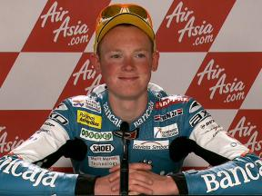 Silverstone 2010 - 125cc - Race - Interview - Bradley Smith