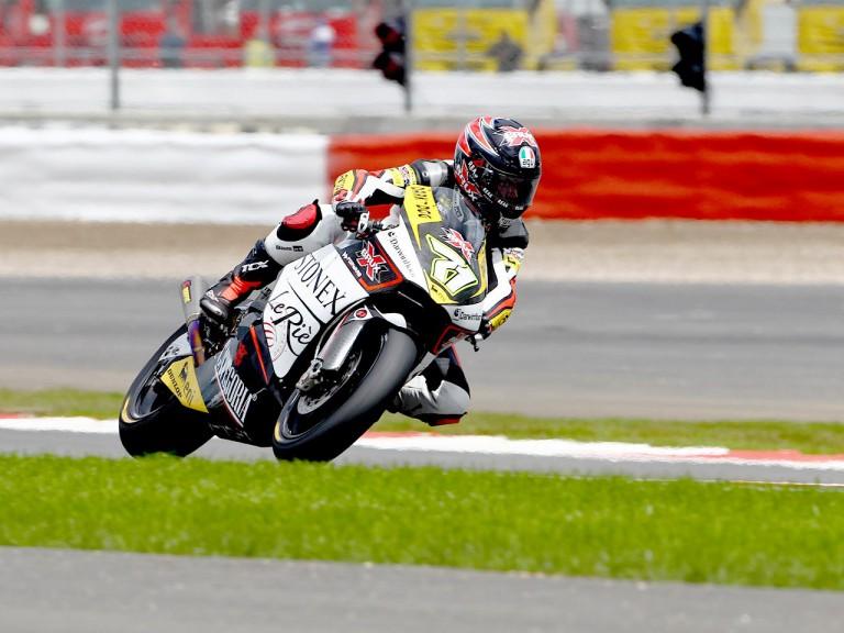 Claudio Corti on track in Silverstone