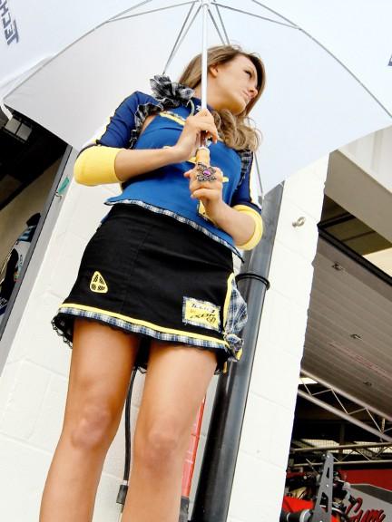 Paddock Girl at the AirAsia British Grand Prix
