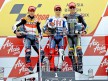 Dovizioso, Lorenzo and Spies on the podium at Silverstone