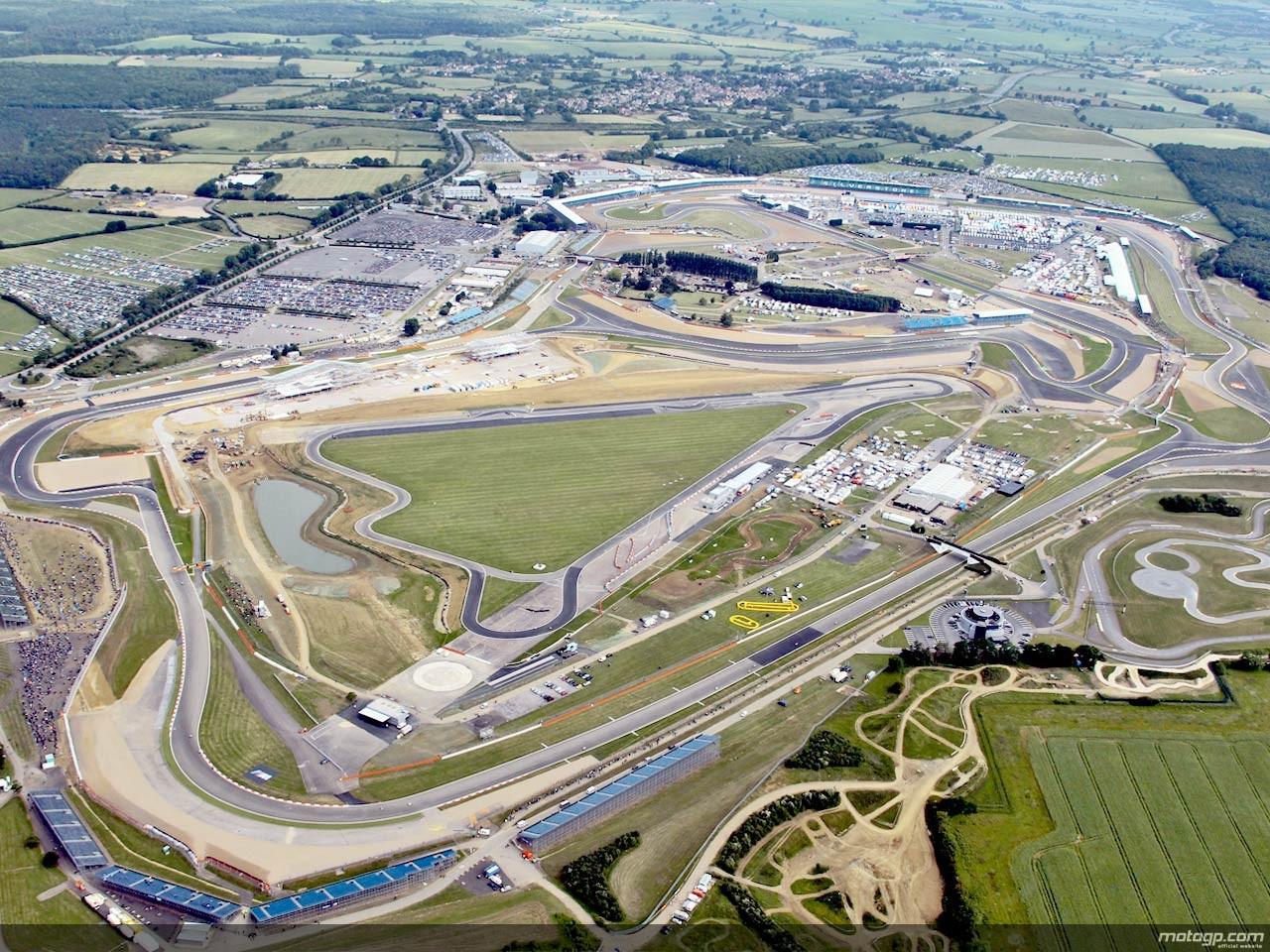 motogp.com · Aerial view of Silverstone circuit