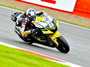 Ben Spies in action at Silverstone