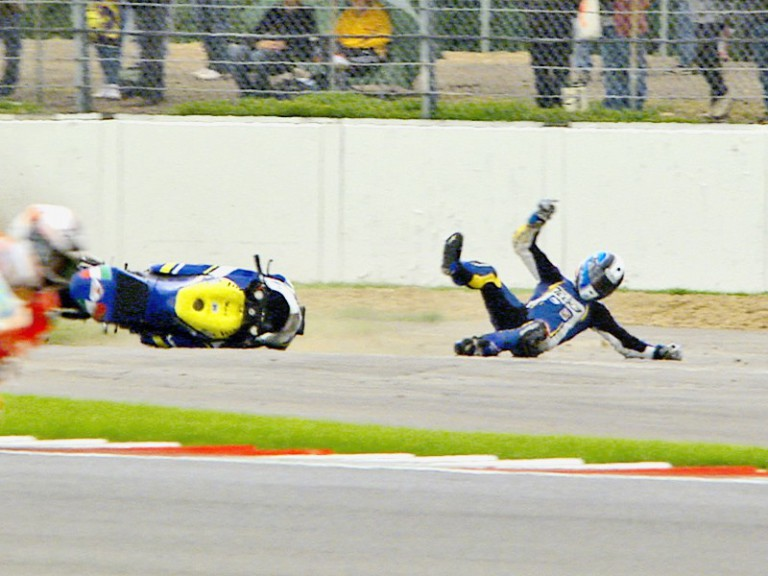 Raffaele de Rosa crashes during QP at Silverstone