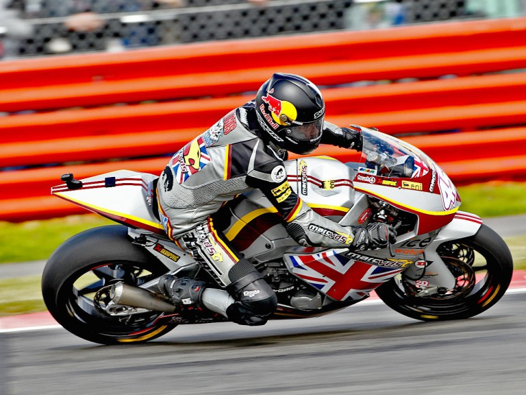 Scott Redding in action at Silverstone