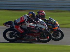 125cc Super Slow Motion action from Silverstone