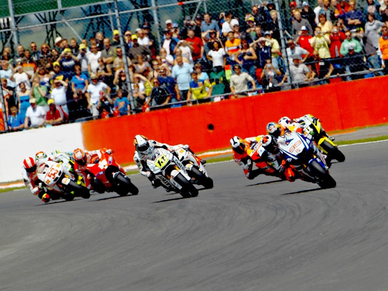 MotoGP Group on track at Silverstone