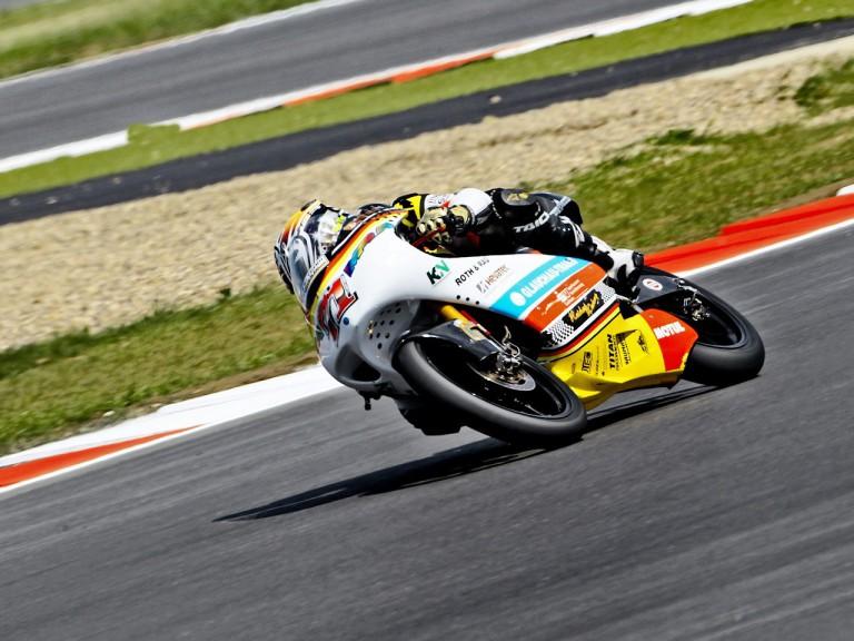 Tomoyoshi Koyama in action at Silverstone