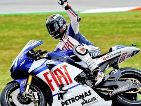 2010 MotoGP World Champion Jorge Lorenzo
