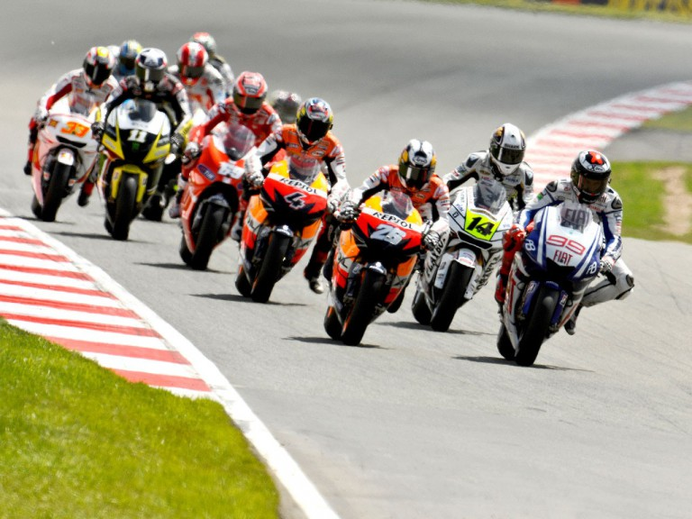 MotoGP action shot