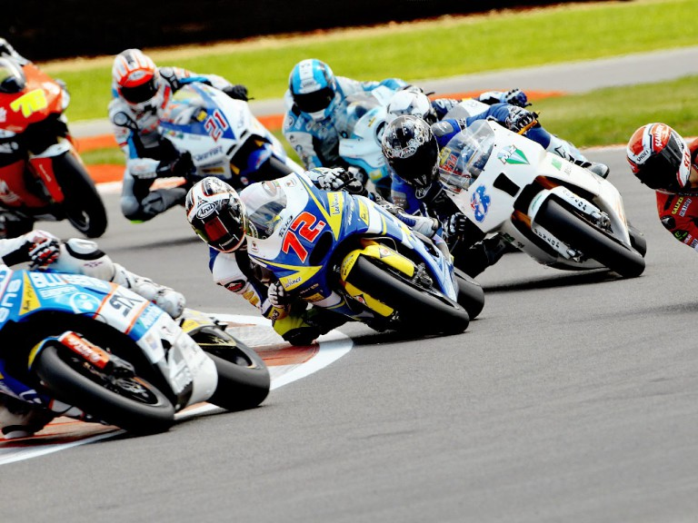 Moto2 action at Silverstone
