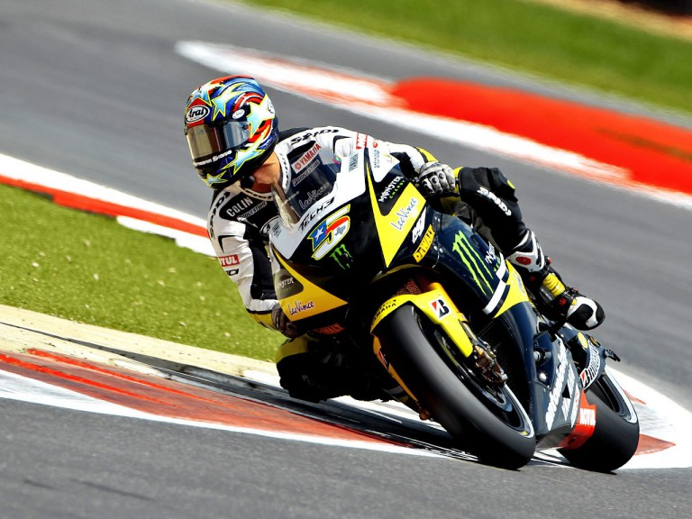 Colin Edwards on track