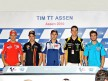 Stoner, Dovizioso, Lorenzo, Spies and Bautista at the TIM TT Assen Press Conference