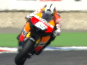 Braking issue for Pedrosa to fix