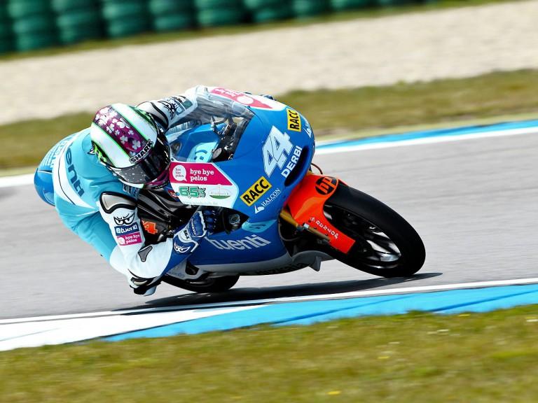 Pol Espargaró on track at Assen